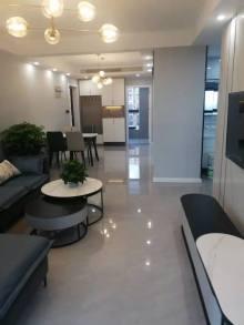 一手(华南)华都幸福里19楼3室2厅2卫136.8万105m²豪华装修家电,房产证有2年